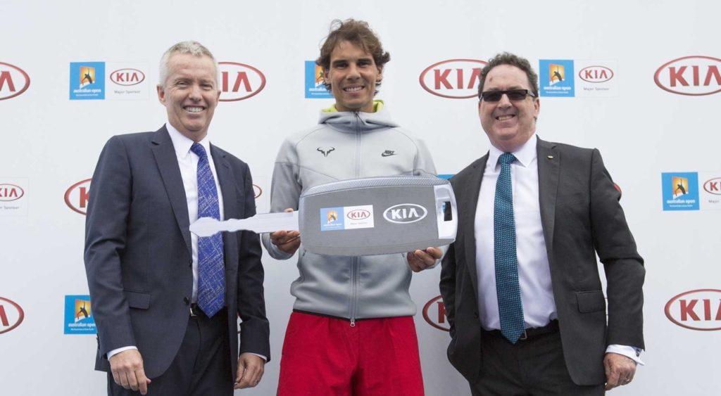 Kia Australian Open_Uebergabe_2015