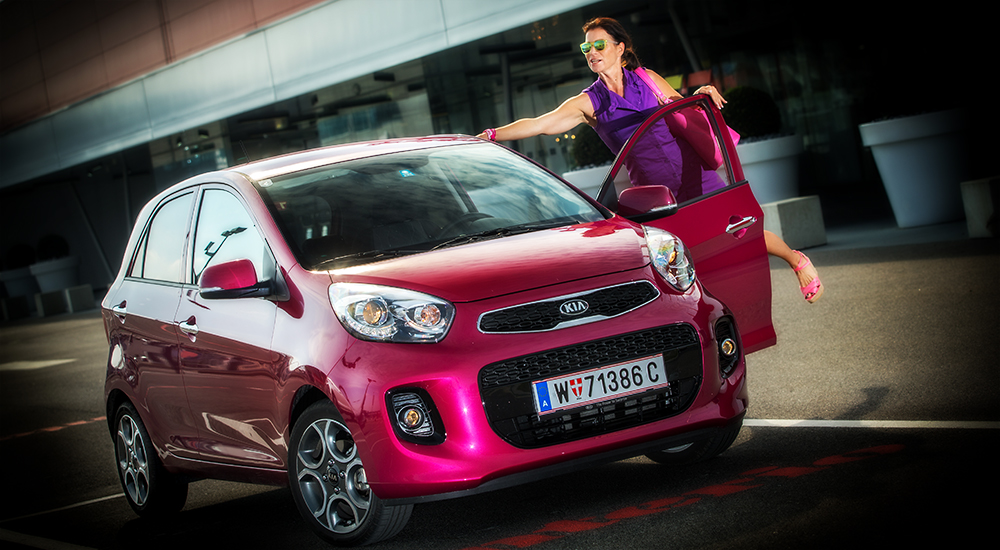 kia picanto pink up your life. Black Bedroom Furniture Sets. Home Design Ideas