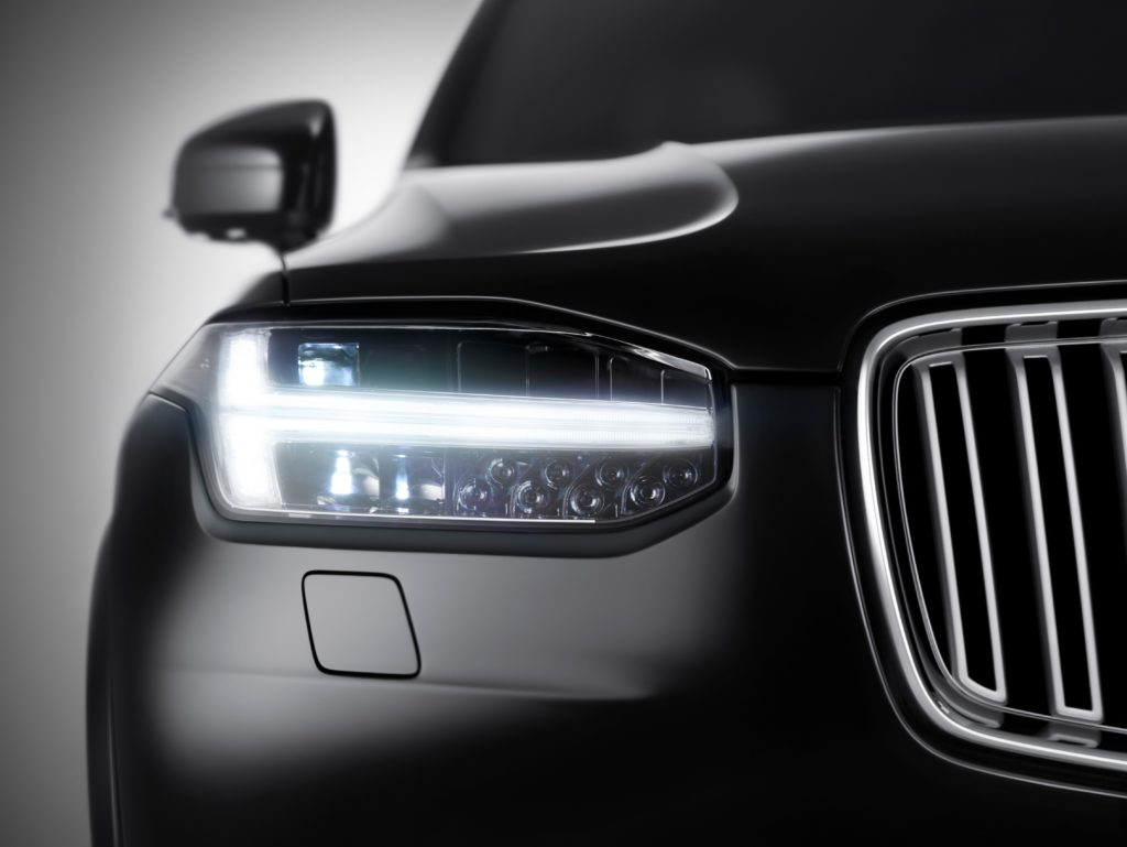 The all-new Volvo XC90 - Front view