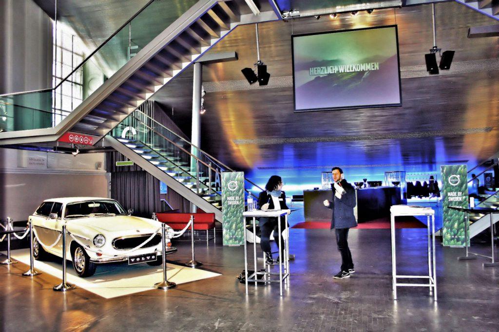 Volvo lud zur Präsentation des neuen S90 und V90 ins Museumsquartier in Wien …(© Sabine Regina Glatz)