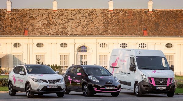 Nissan auf der Pink Ribbon Tour 2016